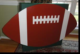 Football Shaped Bar