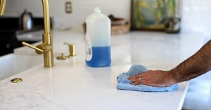 How To Clean Quartz Countertops Molly